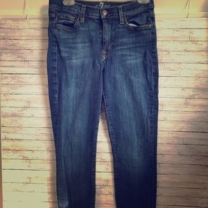 7 For All Mankind skinny jeans 29